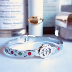 Gucci bracelet silver